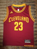 014f18fdc8f LeBron James  23 Cleveland Cavaliers NBA Finals adidas Jersey Youth S 6-8