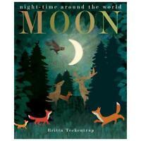 Moon by Britta Teckentrup (artist), Patricia Hegarty