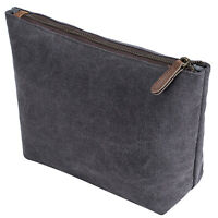 Women Men Makeup Cosmetic Bag Toiletry Case Pouch Purse Zipper Travel Portable