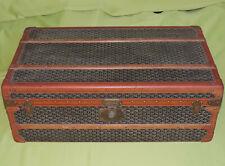 Antiker großer Vintage Schrankkoffer - Reisekoffer - E. Goyard Paris - 90 cm