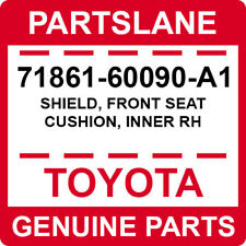 TOYOTA Genuine 71862-60090-A1 Seat Cushion Shield