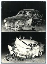 Paris, accident Porte de la Chapelle  Vintage silver print Tirage argentique
