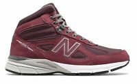 Factory Second New Balance Men's Mid Made in US 990v4 Shoes Red