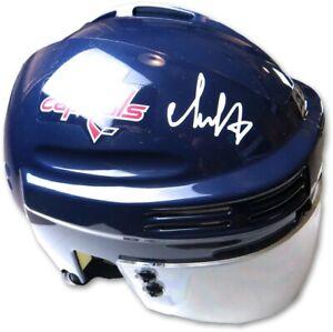 Alexander Ovechkin Signed Autographed Mini Helmet Washington Capitals Fanatics