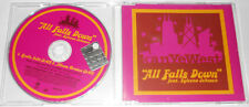 "KANYE WEST Feat. SYLEENA JOHNSON - ALL FALLS DOWN ""2 Tracks Promo"" - CD Single.."