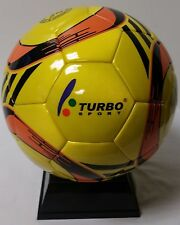 TURBO SPORT EDS-102 FUTSAL BALL (INDOOR SOCCER) OFFICIAL SIZE 4 PU LEATHER + EVA