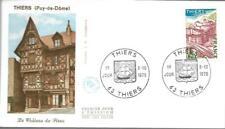 1904+ FDC  ENVELOPPE 1er JOUR  .   SERIE TOURISTIQUE  THIERS