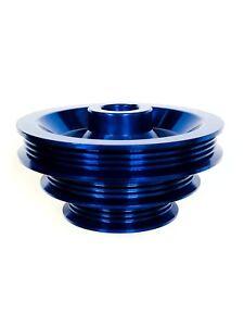 OBX Crank Pulley For Honda 88-91 CRX D15 D16 88-00 Civic D15 D16 D16Y Blue