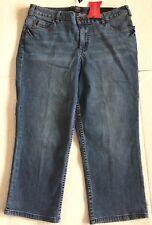 "NEW! Lane Bryant Women's Capri Jeans, Size 14=33"" x 22"", Secret Slimmer Cropped"