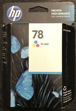 "Genuine HP 78 (C6578DN) Tri-Color Inkjet Cartridge  Unopened/In-box/""expired"""