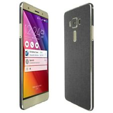 """Skinomi Brushed Steel Skin+Clear Screen Protector for Asus ZenFone 3 Deluxe 5.7"""""""