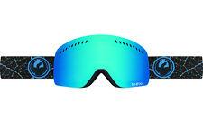 Dragon Alliance NFXs Ski Goggles Patel Blue steel + bonus Yellow lens New