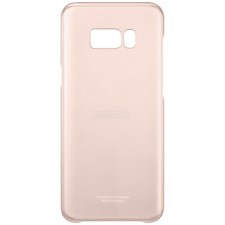 Funda/carcasa Samsung S8 plus Original Clear Cover Case Galaxy S8+ pink
