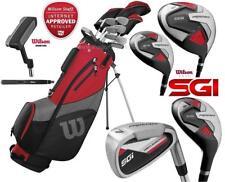 Wilson Prostaff SGI Steel Complete Golf Club Set & LEFT HAND 2019 Stand Bag New