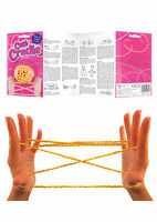 Cats Cradle String Game - Instructions Included - Knotty Game Fumble Fingers