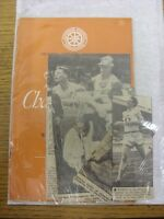 15/07/1955 Athletics Programme: The 1955 Championships [At White City] 15th & 16