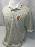 Greg Norman Shark Paiute Golf Resort Las Vegas S/S Geometric Polo Shirt Mens XL