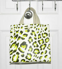 Furla Divide It SMALL Tote Bag Leopard Print Leather Toni Olive Made In Italy