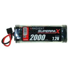 Radient Superpax 2000Mah 7.2v NiMh Battery RDNA0092 deans connector