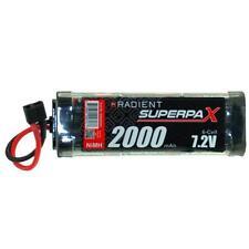 Radient Superpax 2000Mah 7.2v NiMH Batería ADNr 0092 Decanos Conector