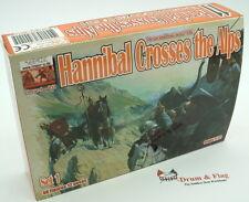 Linear-A 011 Hannibal Crosses the Alps Set 1. 2nd Punic War. Carthaginians. 1/72
