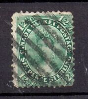 British Canada 1859 12 1/2c green Packet Postage fine used WS18101