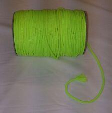 Anorak Cable Fluorescente cordón Cojín tuberías Con Capucha Chaqueta Abrigo 2 Mt 5 Mm