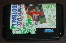 Sega Mega Drive. Joe Montana II Sports Talk Football. NTSC Japanese Version