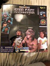 WWE Wrestlemania Steel Cage Challenge Plug & Play Game WWF 25th Ultimate Warrior