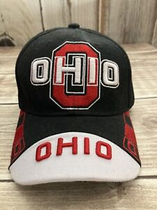 OHIO STATE BUCKEYES OSU EMBROIDERED LOGO PATCH HAT CAP