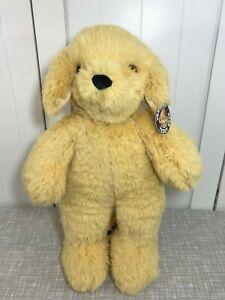 "NEW Vermont Teddy Bear Beige Soft Puppy Dog Plush 20"" Tall"