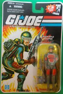 Hasbro GI Joe 2008 @ Sgt. Flash Laser Rifle Trooper @ MOC