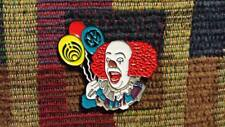 Pennywise Clown Horror EDM Electronica Dance Music Festival Enamel IT Hat Pin