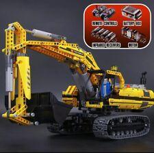 Escavatore motorizzato 8043    100% LEGO TECHNIC Compatibile    1123 pezzi NUOVO