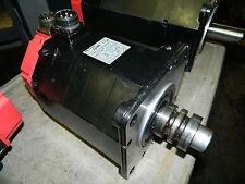 Fanuc # a12/2000 AC Servo Motor, # A06B-0142-B076 #7000, Used, Warranty