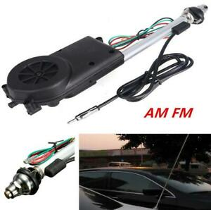 Universal Car Automatic AM FM Radio Electric Antenna Mast Replacement Aerial 12V
