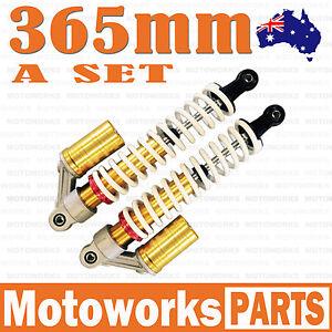 2x HD 365mm Front Shock Absorber Shocker Suspension PIT QUAD DIRT BIKE ATV BUGGY