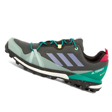 ADIDAS MENS Shoes Terrex Skychaser LT GTX - Black, Purple & Green - EG1734