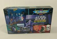 Vintage 1994 Micro Machines Star Wars Stormtrooper Death Star Playset