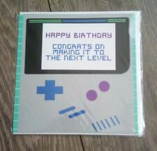 URBAN OUTFITTERS Game Fan Birthday Card new RRP £4