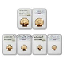 Great Britain 1999 Sovereign 3pc Gold Set NGC PF70 Ultra Cameo