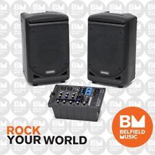 Samson XP300 Portable PA System 300 Watt XP-300 Speakers Mixer - Brand New