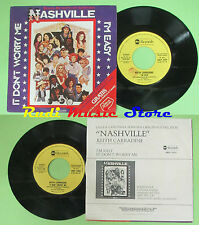 LP 45 7'' KEITH CARRADINE It don't worry me I'm easy NASHVILLE PROMO 1975 no cd*