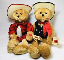 "Valentine's Plush Hank & Kitty Bears Chantilly Sings ""Never Ending Song Of Love"""
