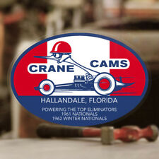 Crane Cams Aufkleber Sticker Old School Hot Rod Rat Racing Vintage V8 Hemi Mopar