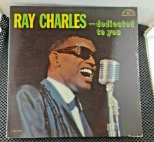 Ray Charles ‎– ...Dedicated To You (ABC-Paramount ‎– ABC 355)