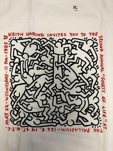 KEITH HARING x UNIQLO 'NYC' MoMA SPRZ NY T-shirt US size S - XL NWT White