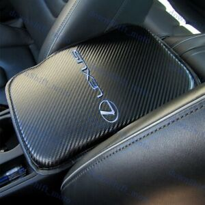 For New Lexus Racing Carbon Car Center Console Armrest Cushion Mat Pad Cover X1