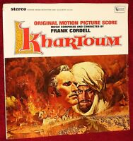 OST LP KHARTOUM FRANK CORDELL 1966 UNITED ARTISTS  SEALED MINT STEREO