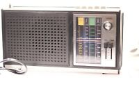 Vintage Sonix 4 Band Radio In Good Working Condition In Black  AIR FM MW LW